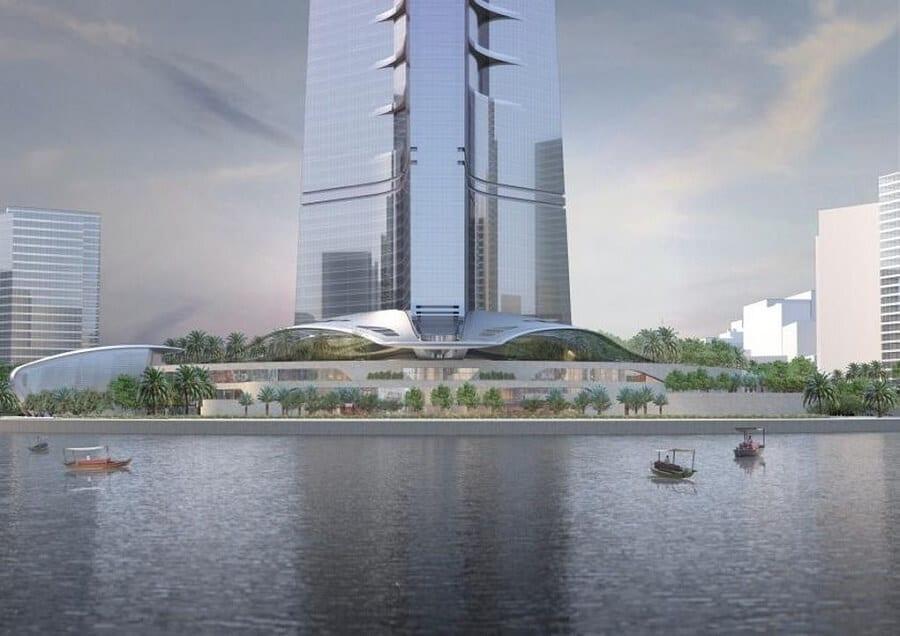Kingdom Tower, Tour Jeddah, Arabie Saoudite