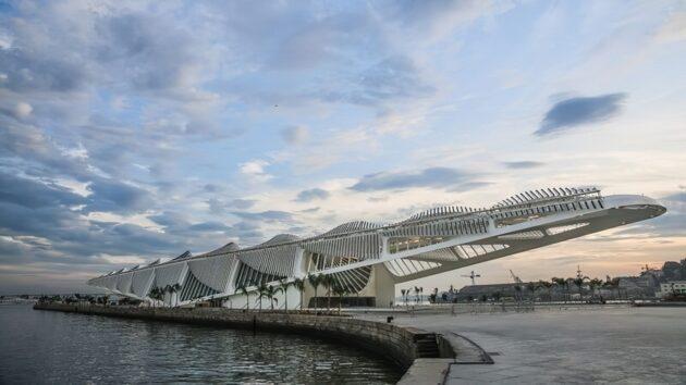 L'étonnant Musée de Demain, à Rio de Janeiro