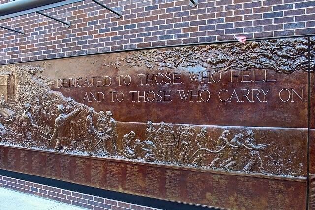 musée, pompiers, 11 Septembre, New York