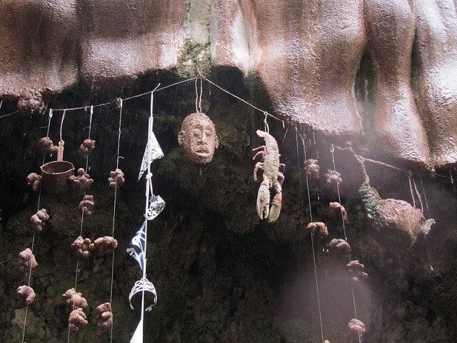 puits de Knaresborough, petrifie, Angleterre