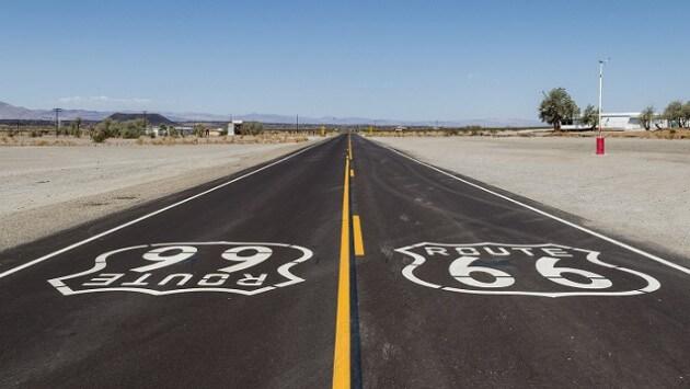 Sur la route… 66
