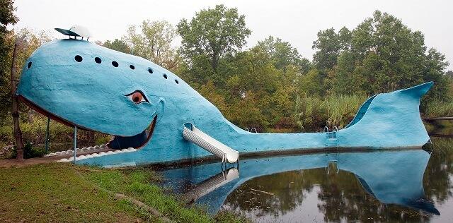route 66, baleine bleue, Catoosa