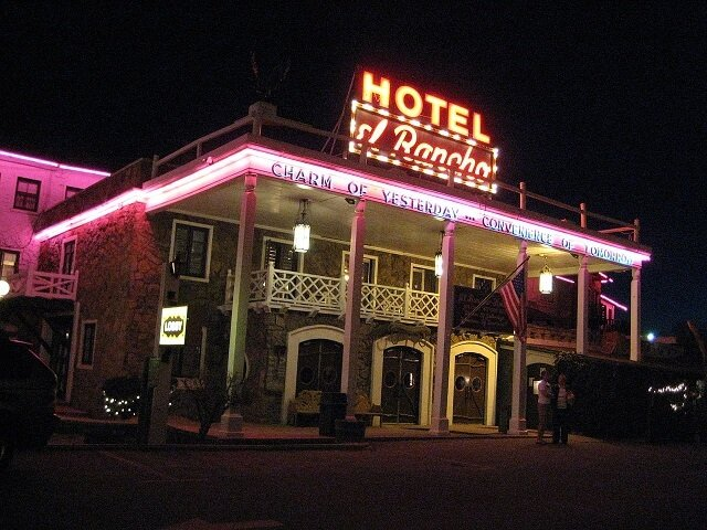 route 66, Gallup, Hotel El Rancho