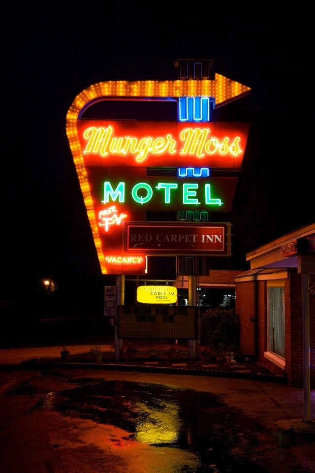 route 66, Munger Moss, hotel