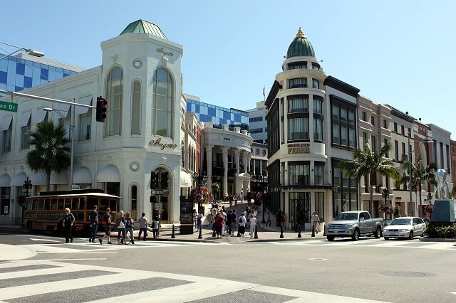 route 66, Rodeo Drive Beverly Hills, Los Angeles