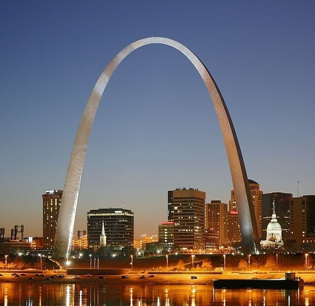 route 66, Saint-Louis, Gateway Arch
