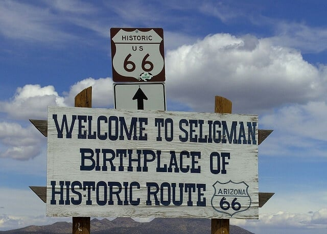 route 66, Seligman, Arizona