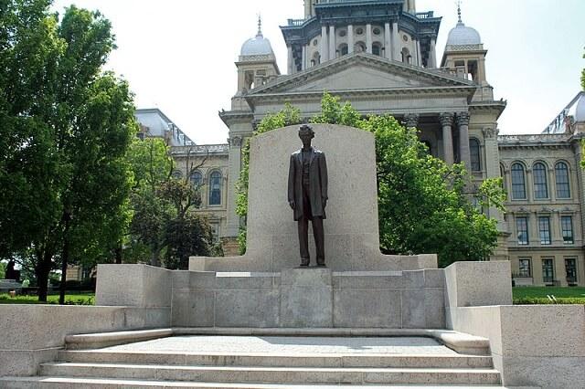 Route 66, Springfield, Abraham Lincoln, statue