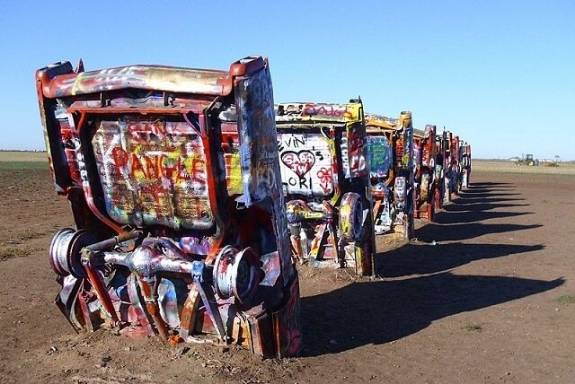 route 66, Texas, Cadillac Ranch
