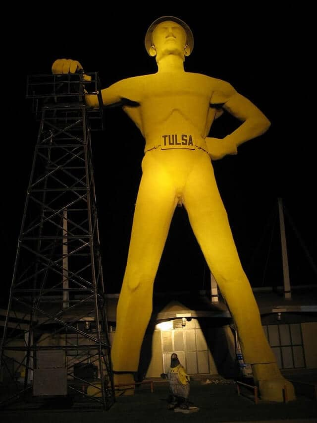 route 66, Tulsa, Golden Driller