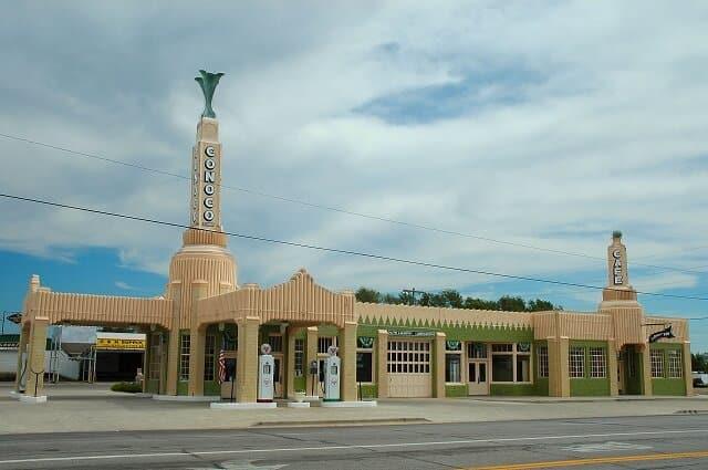 route 66, U-Drop Inn, Texas