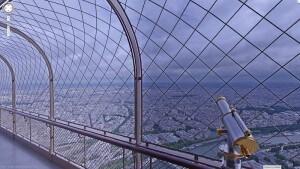 Tour Eiffel, Google Street View