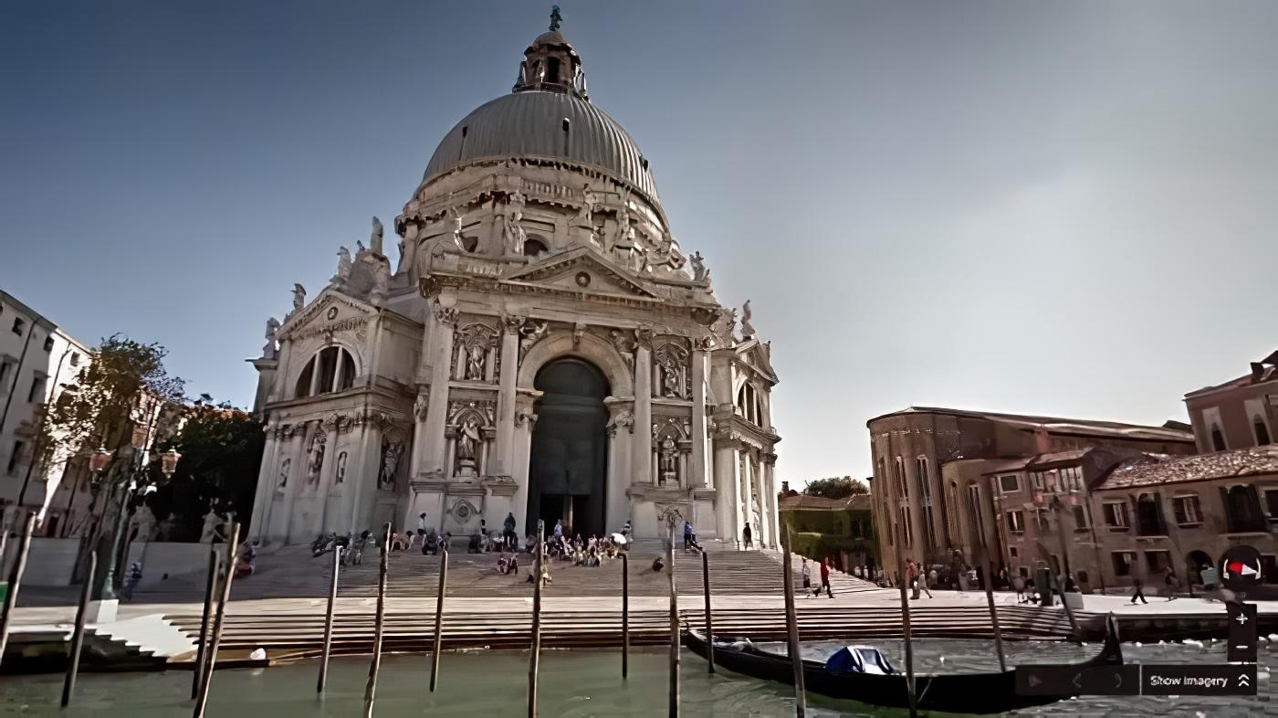 Visite virtuelle de Venise avec Google Street View