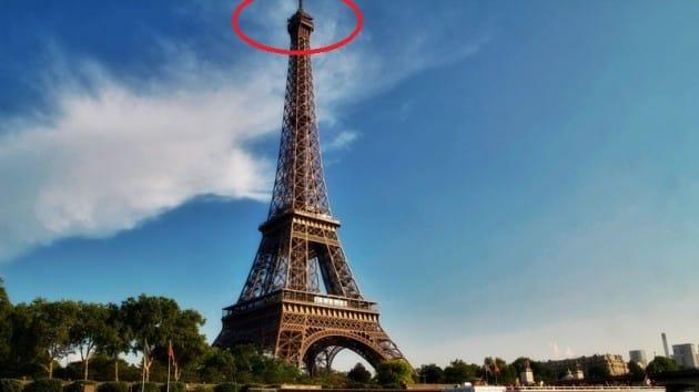 Un appartement secret au sommet de la Tour Eiffel