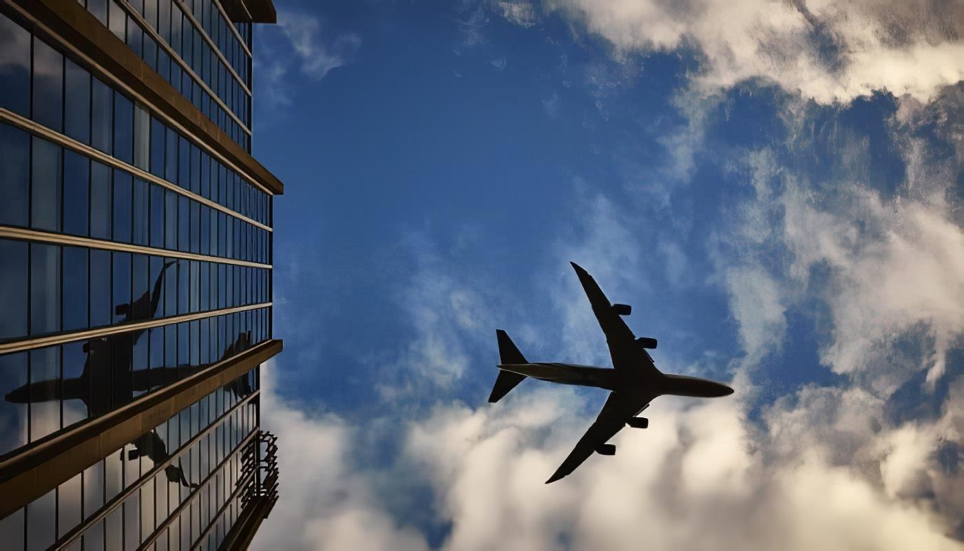 avion vol d'ouest en est plus rapide