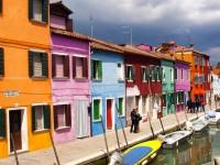 Burano, excursion en bateau, Venise