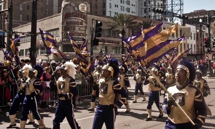 Carnaval, Mardi Gras, Nouvelle-Orléans