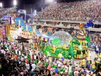 Carnaval de Rio de Janeiro: billet de parade pour l'école de samba