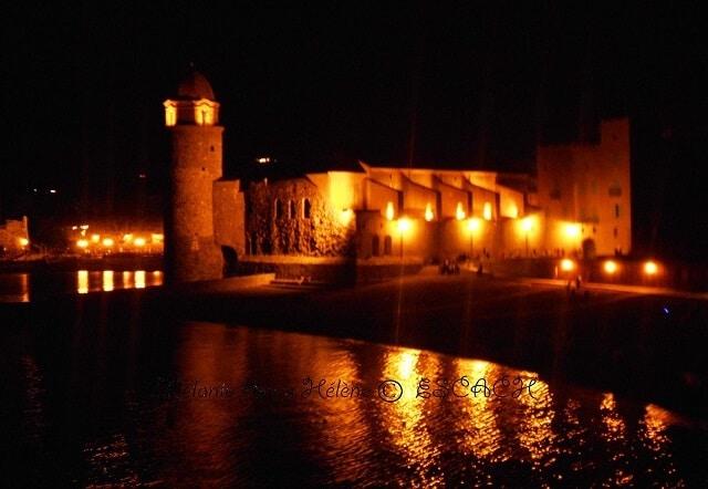collioure-clocher-nuit