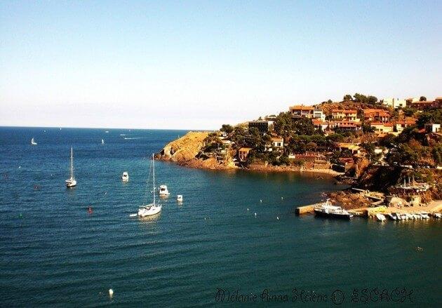 Collioure, petit village de France sur la côte méditerranéenne