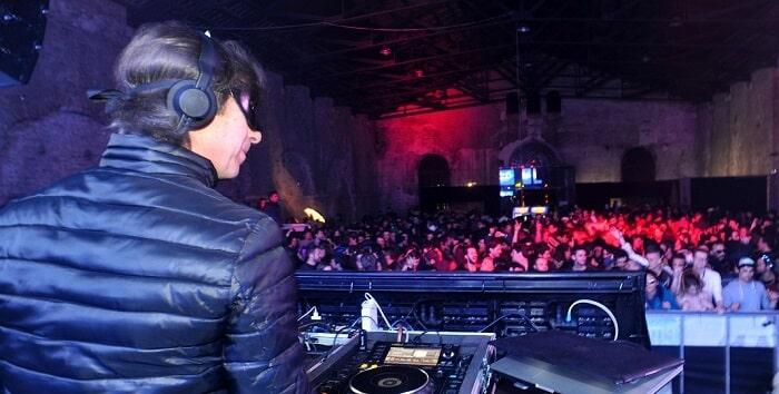 diner officiel, Carnaval de Venise, DJ