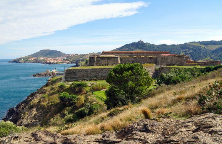Le Fort Miradou construit par Vauban, Collioure