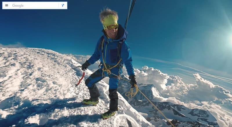 Google vous propose une ascension virtuelle du Mont Blanc