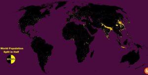 moitié de la population vit sur 1 pour cent de ses terres