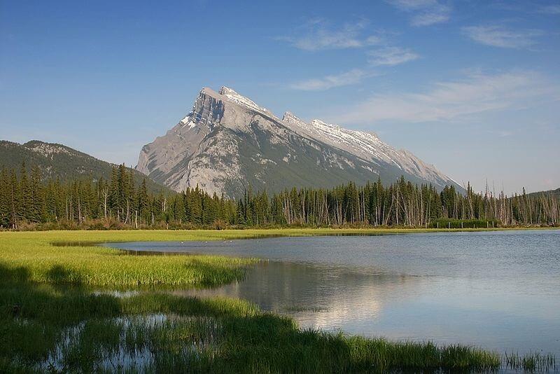 parcs nationaux, Canada, Mont Rundle, Banff