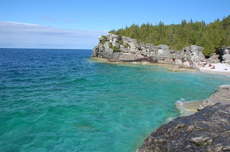 parcs nationaux, Canada, Péninsule-Bruce