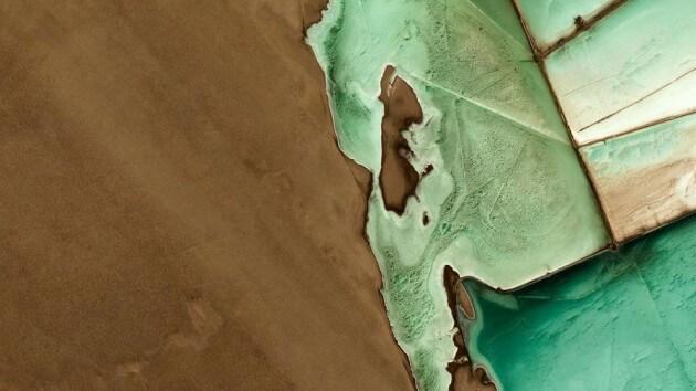 Les paysages les plus étranges sur Terre pris par des satellites