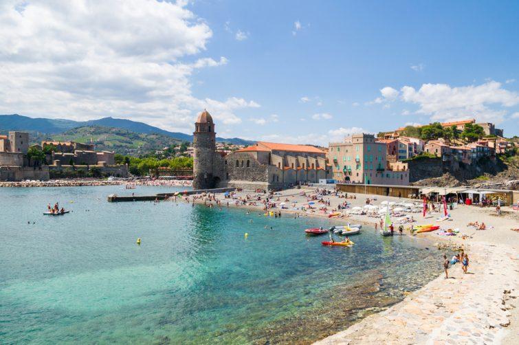 La petite plage de Collioure