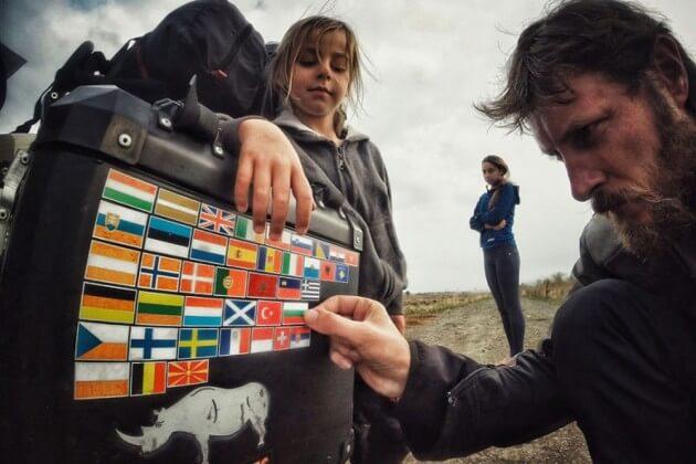 Une famille roumaine fait 28.000 km dans l'Europe en side-car