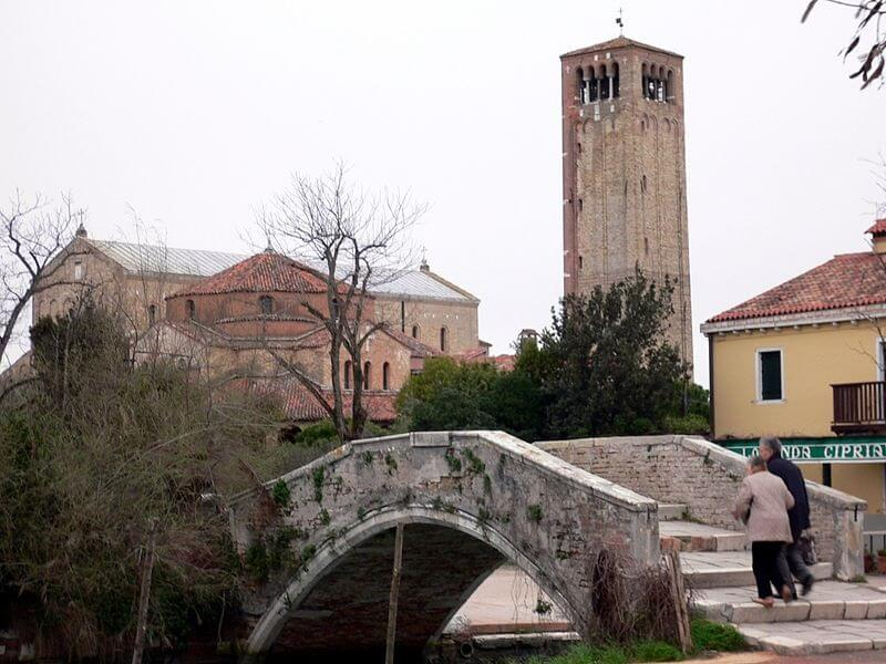 Torcello, excursion en bateau, Venise