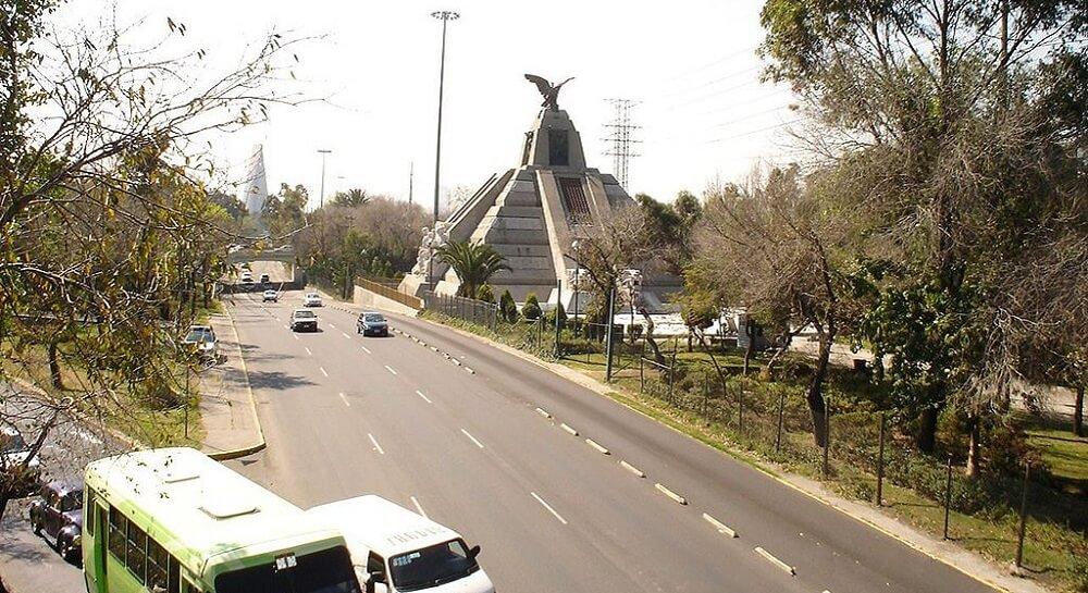Avenue de Los Insurgentes, Mexique