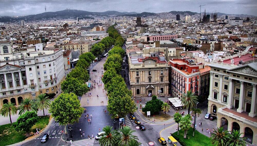 Avenue de Las Ramblas, Barcelone