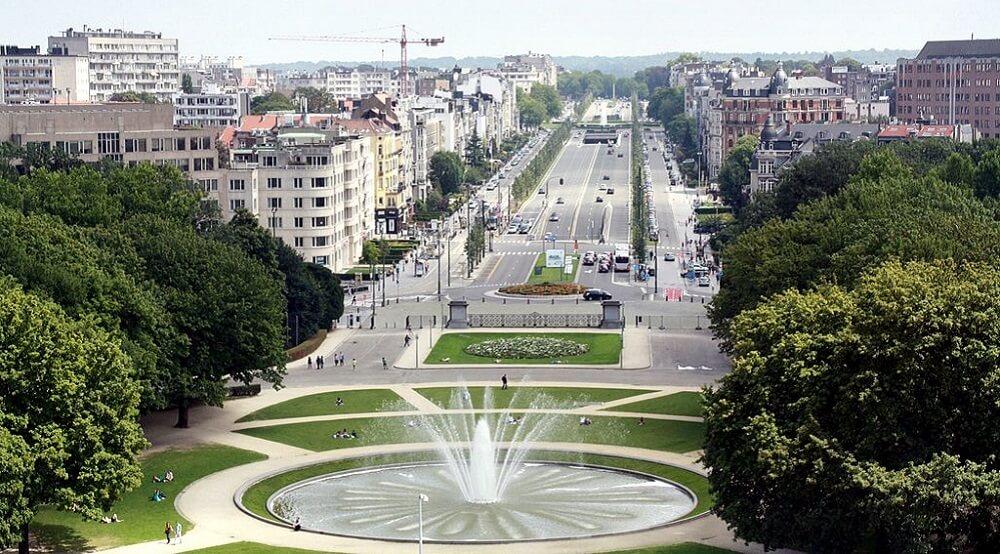 Avenue de Tervueren, Fontaine
