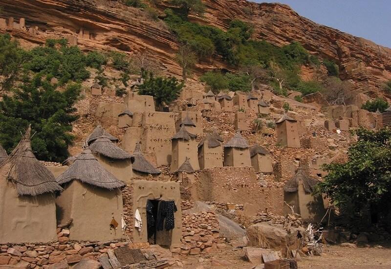 Bandiagara, Village, Mali
