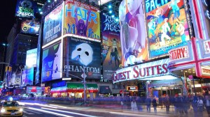 Broadway, New-York, Nuit
