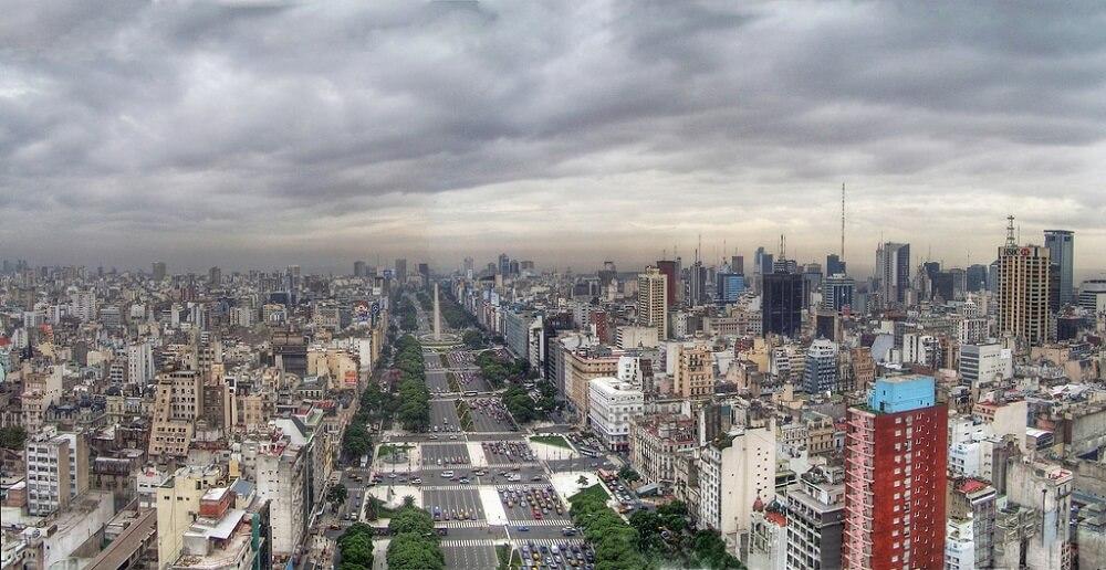 Buenos Aires, Avenue du 9 Juillet
