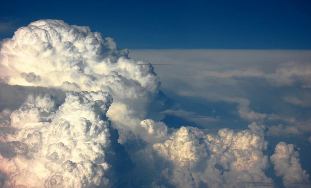 Ciel, Cumulonimbus, Nuage