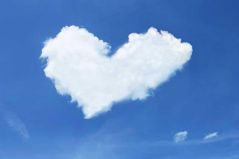 Coeur, Nuage, Ciel