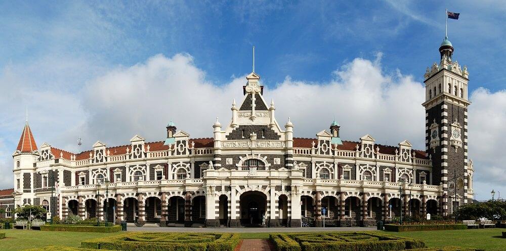 Dunedin, Station de Nouvelle-Zélande