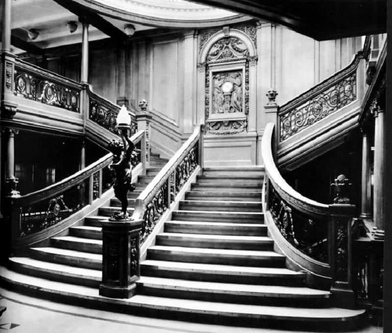 escaliers, titanic