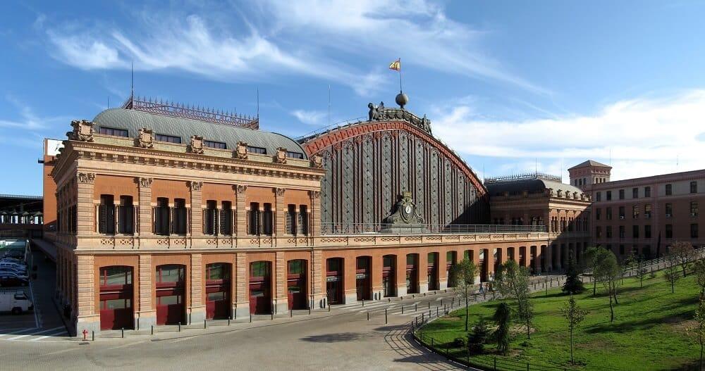 Gare d'Atocha-Madrid