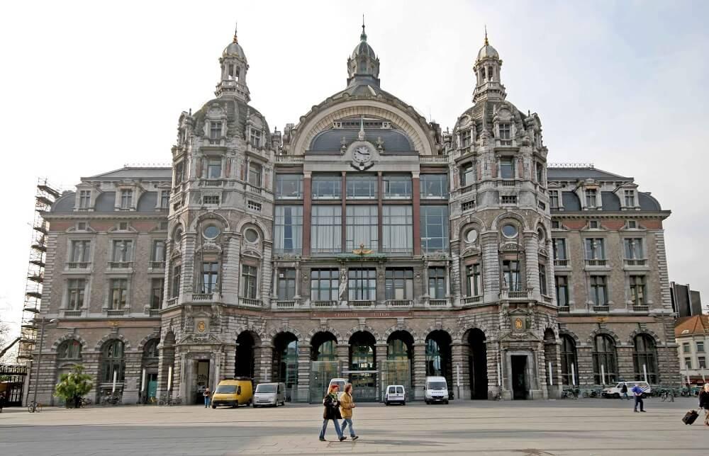 Gare centrale d'Anvers, Belgique