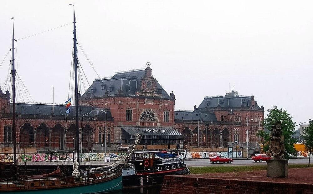 Gare de Groningue, Pays-Bas
