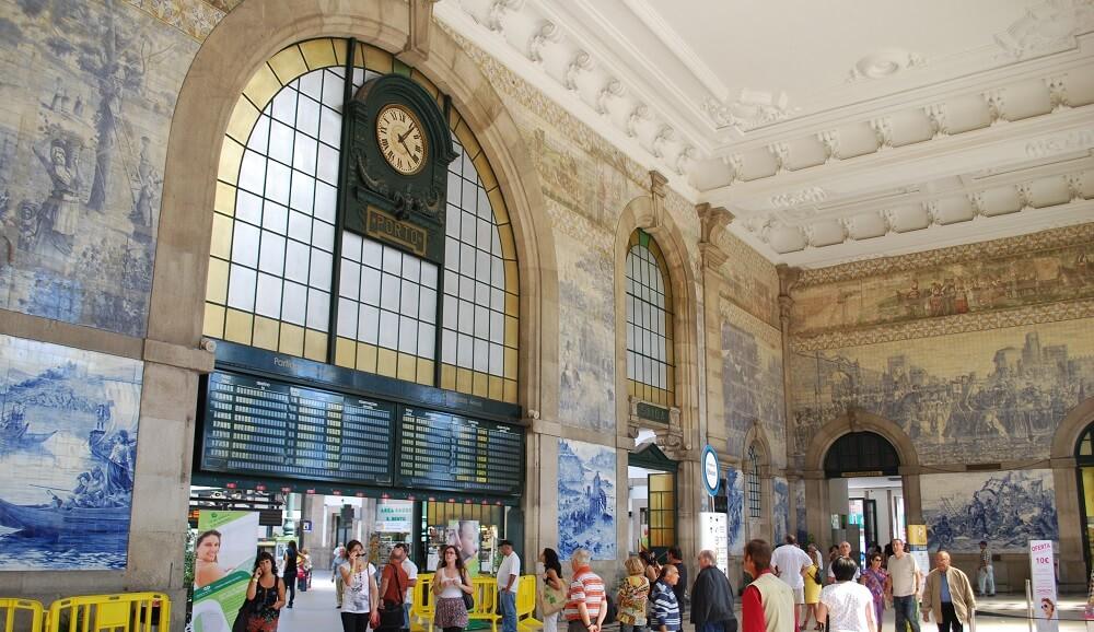 Gare de Porto-Sao Bento, Hall