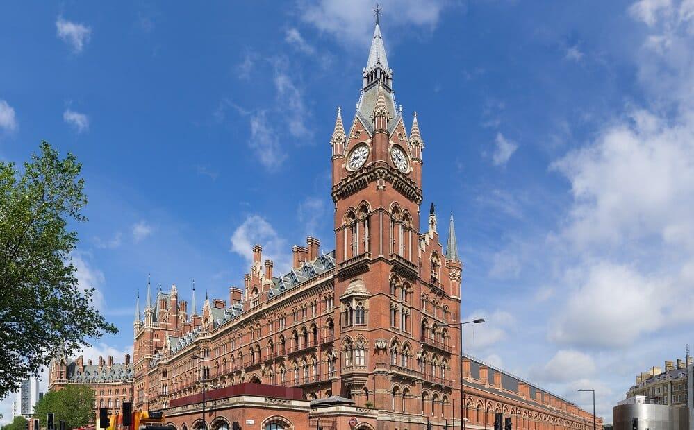 St Pancras, Gare Londres