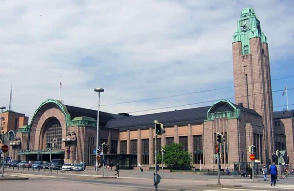 Gare de Helsinki, Finlande
